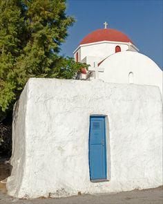 Church, Island of Mykonos, Greece Mykonos Greece, Adventure Awaits, Island, Explore, Photography, Houses, Photograph, Fotografie, Islands