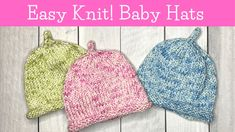 Cox Inbox Baby Hat Knitting Patterns Free, Baby Hats Knitting, Knitting Stitches, Free Pattern, Knitted Baby Beanies, Knitted Hats, Double Pointed Knitting Needles, Knit Crochet, Crochet Hats