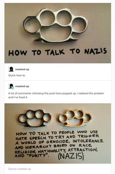 I generally oppose the use of violent force but apparently people didn't pay enough attention to WWII. Intersectional Feminism, Equal Rights, Faith In Humanity, Social Issues, Tumblr Posts, Social Justice, Wwii, Equality, Funny