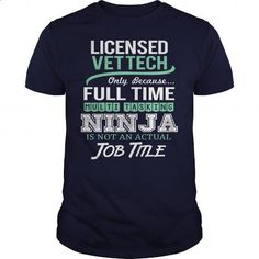 Awesome Tee For Licensed Vet Tech - #pink sweatshirt #sleeveless hoodies. SIMILAR ITEMS => https://www.sunfrog.com/LifeStyle/Awesome-Tee-For-Licensed-Vet-Tech-144872239-Navy-Blue-Guys.html?60505