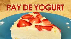 Pay o pie de yogurt INNGREDIENTES - Galletas de vainilla - Yogurt - Leche condensada - Crema para batir - Fresas o tu fruta favorita -1/4 de taza de azúcar - 60 gr de mantequilla