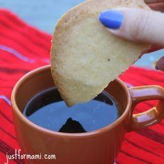 Receta de Champurradas de Guatemala: las champurradas son pan dulce tostado que usualmente se acompaña con un cafecito caliente.