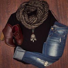 Devyn Basic Top - Black #Fashion #basic #ootd #style #ShopPriceless