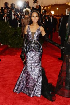 CeleBeauty Watch: Get the Official Makeup Look for Kerry Washington at the 2013 Met Gala from Tarte Cosmetics | Blinging Beauty