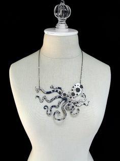 Octopus Metal Necklace