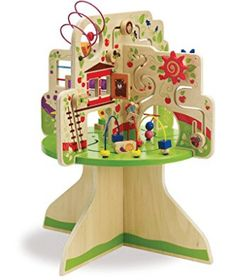 Toddler Manhattan Toy Wooden Tree Top Adventure Activity Center is my 2 yr. Old sons favorite toy. I can keep an eye on him while building my online business! Activity Cube, Activity Toys, Activity Centers, Toddler Toys, Baby Toys, Kids Toys, Children's Toys, Girl Toddler, Toddler Fun