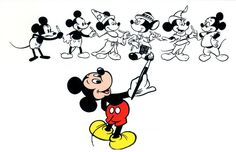 All sizes | Mickey painting Mickey | Flickr - Photo Sharing!