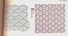 Patrón #315: Puntos tupidos bicolor #ctejidas http://blgs.co/2qFgs8