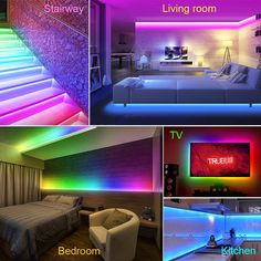 Korjo Dream Color Led Strip Lights 32 8ft 10m Bluetooth Led Chasing Light With App Waterproof 12v 300 Le In 2020 Led Strip Lighting Strip Lighting Rgb Led Strip Lights