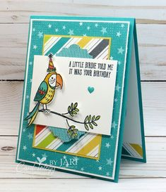 Stampin' Up! Bird Banter-Cardiology by Jari