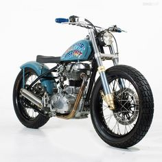 Sideburn Royal Enfield Bullet - repined by http://www.motorcyclehouse.com/ #MotorcycleHouse