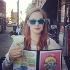 """Favorite person on the Internet Mamrie Hart of """"You Deserve A Drink"""" on Youtube ♡"""