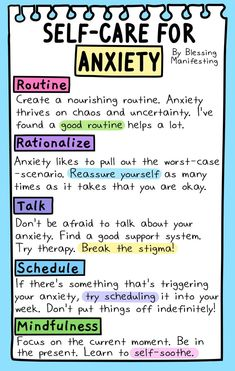 for anxiety. Self care should never be ignored. Taking care of yourself is the first step to live a happy healthy life.self-care for anxiety. Self care should never be ignored. Taking care of yourself is the first step to live a happy healthy life. Anxiety Tips, Anxiety Help, Stress And Anxiety, Health Anxiety, Coping Skills For Anxiety, How To Manage Anxiety, Quotes About Anxiety, Anxiety Relief Quotes, Foods For Anxiety