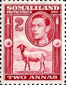 Postage stamps and postal history of British Somaliland - Wikipedia