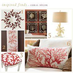 LOVE Coral decor
