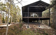 Cabin vacation house from Stromma Project, Stockholm, Sweden