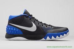 "tenis barato de marca Nike Kyrie 1 Lyon azul/prata metálico-Preto-antracite ""Brotherhood"" 705277-400 Masculino"