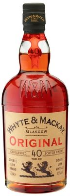 """Whyte & Mackay """"Original"""" 40 Year Old Aged Blended Scotch Whisky"""