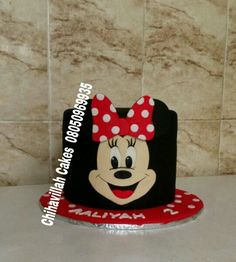 2D Minnie Mouse cake by Chihavillah cakes