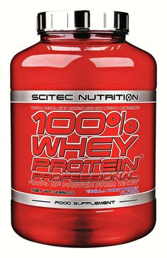 Scitec Nutrition Whey Protein Professional 2350g Dose - Jetzt günstig kaufen bei Natural-Fitness24 | Natural-Fitness24