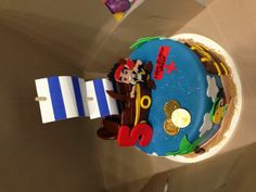Delicious Jake and the Neverland Pirates Party Cake