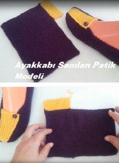 knitting projects for babies Baby Knitting Patterns, Free Knitting, Crochet Patterns, Crochet Shoes, Crochet Slippers, Sheep Tattoo, Bed Socks, Big Knits, Crochet Cushions