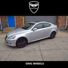 #Lexus with Flow black with lazer mill rims #GWGWheels in style. #HappyHoliday #throwbackthursday