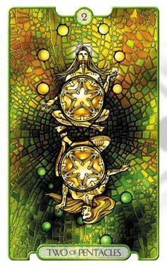 Revelations Tarot Two of Pentacles - Pesquisa do Google