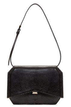 Givenchy – Black Lizard Skin Bow-Cut Bag  1f097ca986a0b