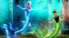 13  Disney Princesas de que se ven increíbles como sirenas