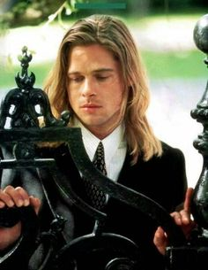 Great collection of Brad Pitt photos. Aidan Quinn, Julia Ormond, Henry Thomas, Robert Redford, Brad Pitt Images, Norman, Brad Pitt Hair, Chef D Oeuvre, Heaven Sent