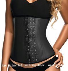3278e3da78 Lose inches fast with the latex waist trainer