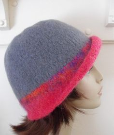 Wool Felted Hat for Women by MaggiesInn on Etsy