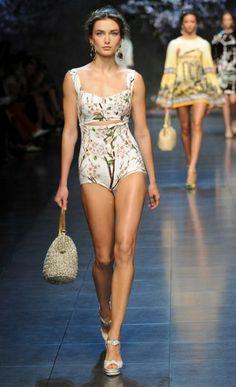 Milan Fashion Week: Dolce & Gabbana spring/summer 2014