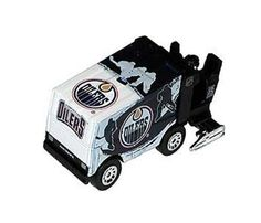 NHL Edmonton Oilers 2010 1:64 Diecast Zamboni by Top Dog. $7.11. 2010 version of 1:64 scale NHL Team Zamboni diecast.  It features official NHL team colors and logo.  It is an officially licensed NHL product with team graphics on the zamboni.. Save 29%!