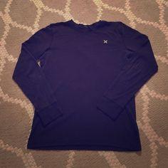 Black Hurley henley long-sleeved shirt Black long-sleeved Henley-style shirt from Hurley. In excellent condition! Hurley Tops Tees - Long Sleeve
