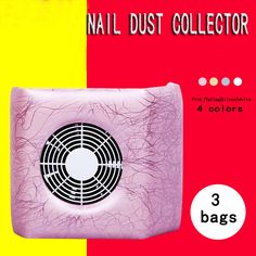 4 Colors Nail Fan Art Dust Suction Collector Manicure Filing Acrylic UV Gel Machine Nail Dryer. Click visit to buy #Nail #Tool #NailTool