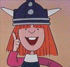 Vicky The Viking (Rock Cover) Cartoon Cartoon, Lucky Luke, My Childhood Memories, Sweet Memories, Tv Movie, Rock Cover, Pinturas Disney, Good Old Times, Mecha Anime