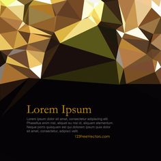 Vector Free Download, Free Vector Art, Vector Graphics, Triangle Background, Lorem Ipsum, Art Images, Vectors, Clip Art, Abstract