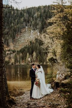 Intimate Hallstatt Elopement Wedding with Lace Angelic Bridal Gown and Reception at Genuss Gasthaus Kohlröserlhütte, shot by Wild Connections Photography Elope Wedding, Wedding Bells, Wedding Bride, Dream Wedding, Wedding Decor, Fall Wedding Bouquets, Fall Wedding Flowers, Autumn Wedding, Fall Bridesmaid Dresses