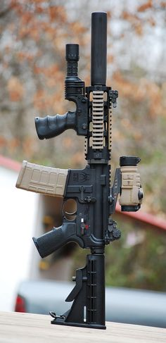 Wow this is a great set up on an AR-15