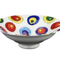 Ceramica Circle Fruit Bowl