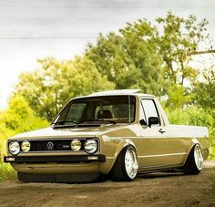 Volkswagen MK1 Rabbit Pickup aka CADDY.