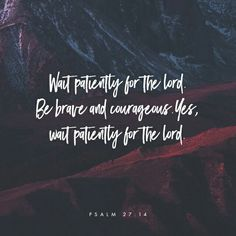 Waiting is so hard, but this is very clear. God will never leave us! He is faithful to ALWAYS do what he says. Thank you God for what you have promised me. I cling to it because I know ow it's true!