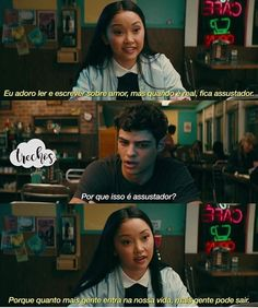 Lara Jean and peter kavinsky in to all the boys I've loved before. Series Movies, Movies And Tv Shows, Movie Quotes, Book Quotes, Jean Peters, Lara Jean, Movie Couples, Romance Movies, Boyfriend Goals