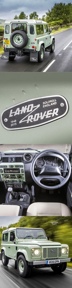 2015 Land Rover One-Ten Heritage Edition / UK / green white / to commemorate my 110th follower / 17-336 / Topgear