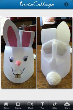 Cute DIY Easter basket