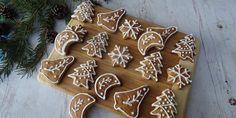 szafi-reform-szenhidratcsokkenett-glutenmentes-mezeskalacs Gingerbread Cookies, Christmas Cookies, Christmas Ornaments, Cookie Decorating, Paleo, Food And Drink, Fitt, Holiday Decor, Sugar Art