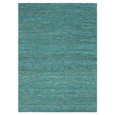 Featuring a textured design, this vibrant blue jute rug lends a colorful touch to your living room or den. Pair it with patterned furniture to create a layer...