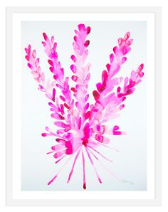 Kate Roebuck, Pink Wheat   One Kings Lane